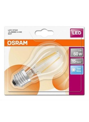 Osram Retrofıt Cla 60 6,5W E27 Beyaz Işık Renksiz